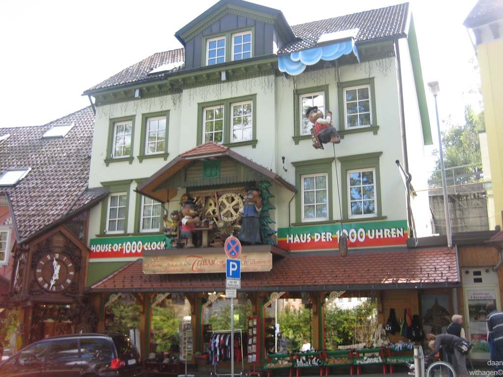triberg house of 1000 clocks
