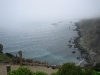 Ondanks de mist een geweldig uitzicht