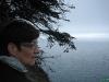 Annie kijkt haar ogen uit aan Big Sur