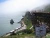 Golden Gate bleef in de mist