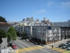 Uitzicht op SF vanuit Hotel