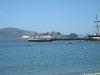 Uitzicht op Alcatraz vanuit Fishermans Wharf