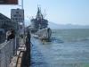 Submarine en fregat bij Fishermans Wharf