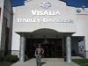 Dank zij Rob zijn lekke band konden wij bij HD Dealer in Visalia T-shirtje scoren
