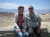 Wim en Jacqueline in Death Valley