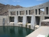 Parkerdam in Colorado river grens Arizona California