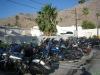 Motorparking bij motel in Palm Springs