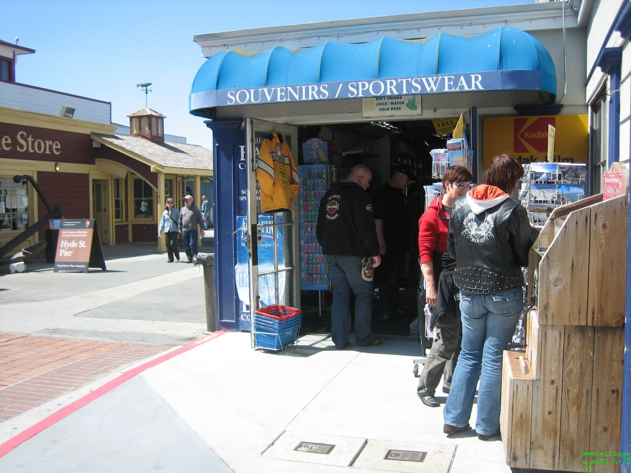 Souvenirs at Fishermans Wharf