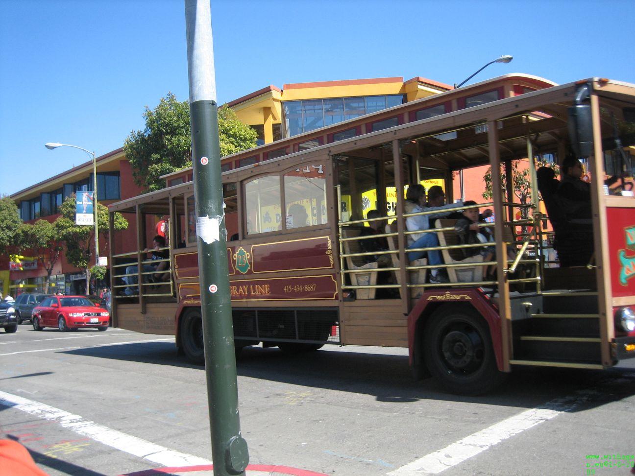Variant op  de oude SF tram