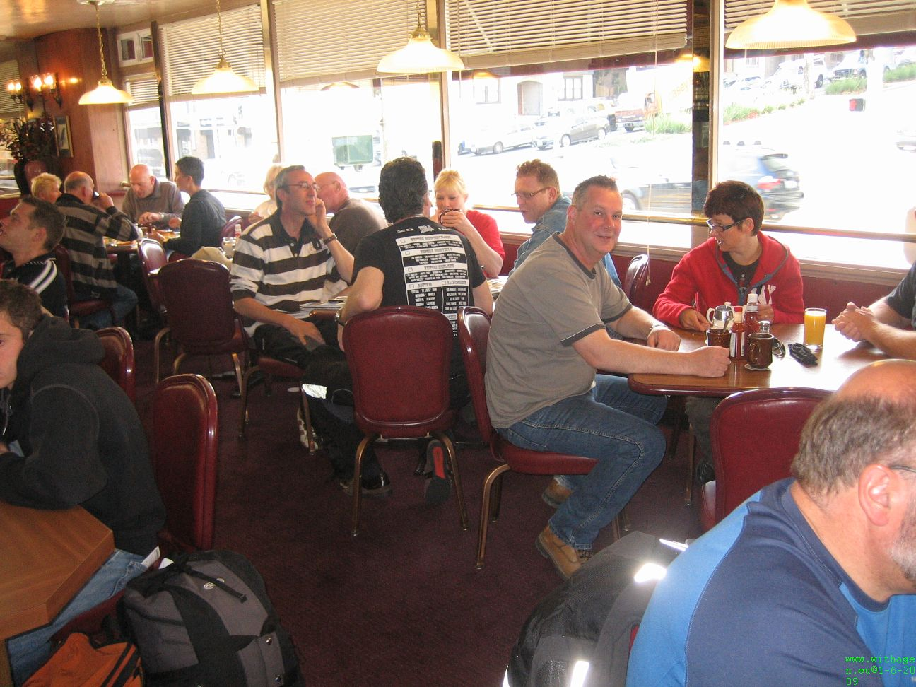 ontbijt in good old american breakfast diner SF