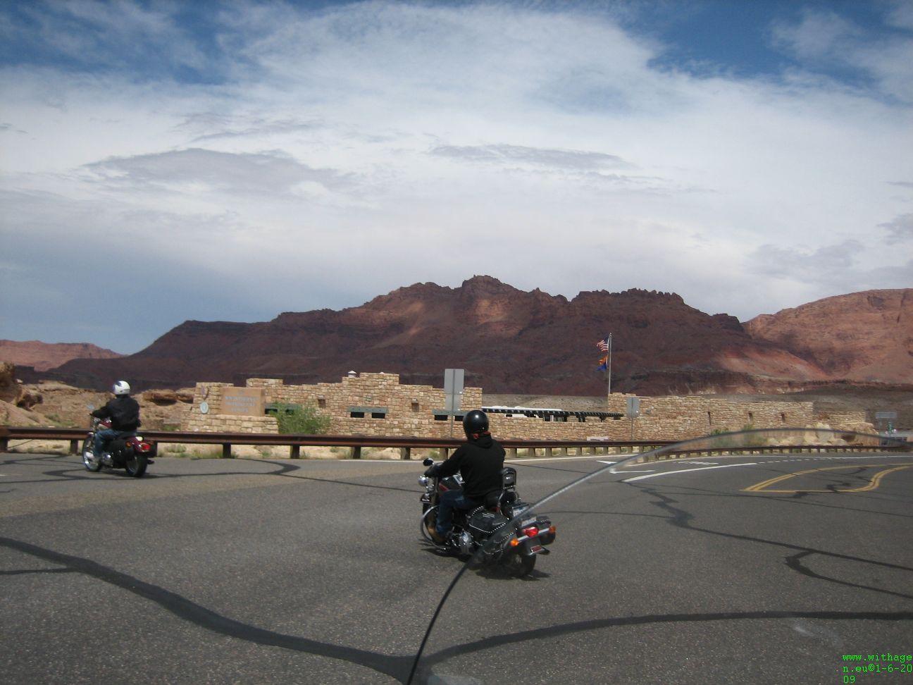 Bij Navajo Bridge