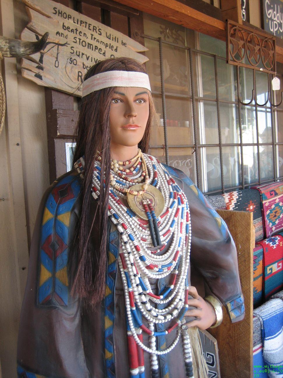Pocahontas vlak voor Grand Canyon Southrim