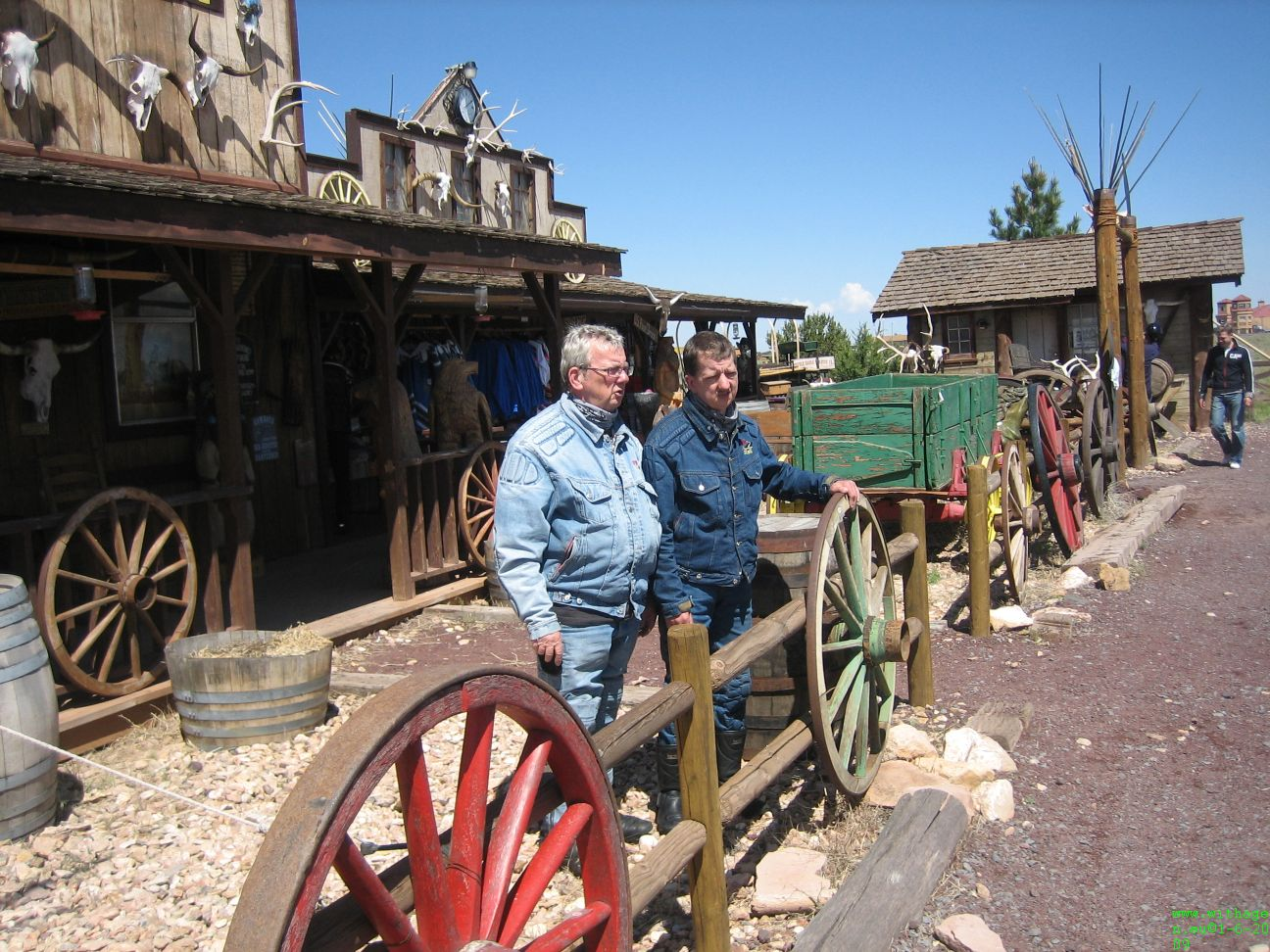 Cowboy Ronny en Theo