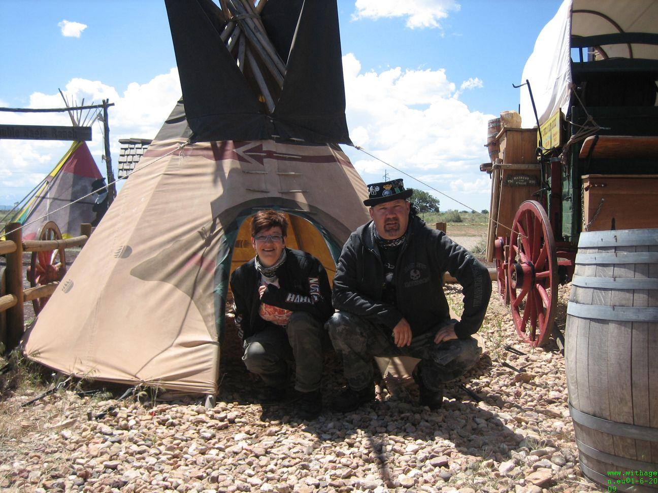 Ugh squaw bij tent gevonden