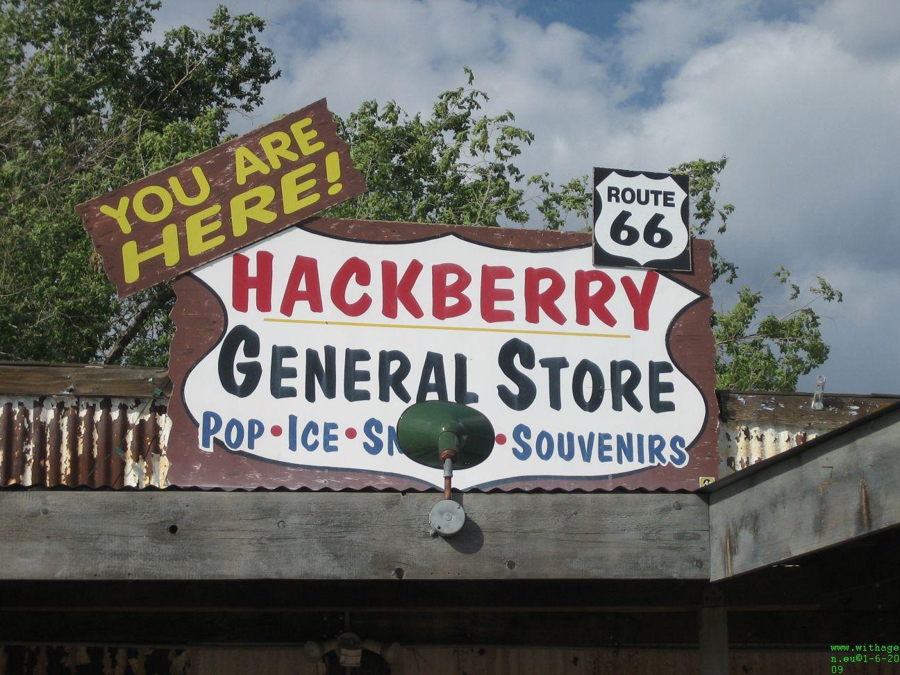 Hackberrys General store route 66