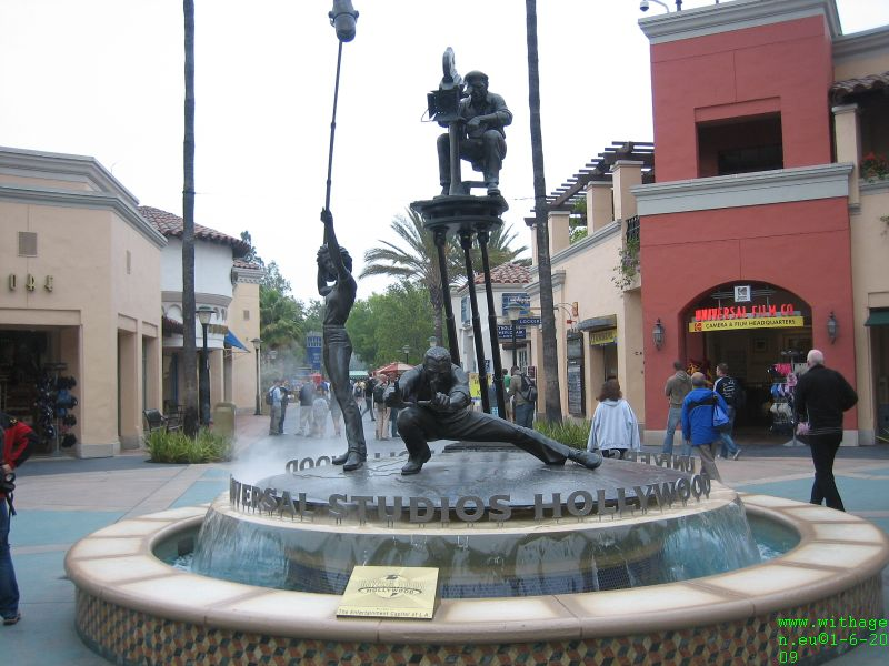 Ingang Universal Studio Hollywood
